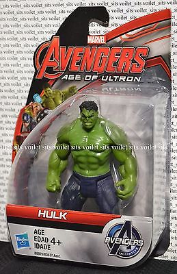 "New Marvel Avengers Age of Ultron 3.75"" Action Figure Hulk"