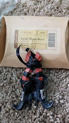 Longaberger Wicked Witch Tie On