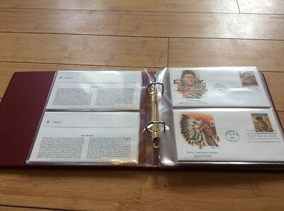 Albumn of 20 USA first day covers