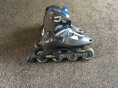 Salomon inline skates size 5.5UK Helmet And Hand Guards