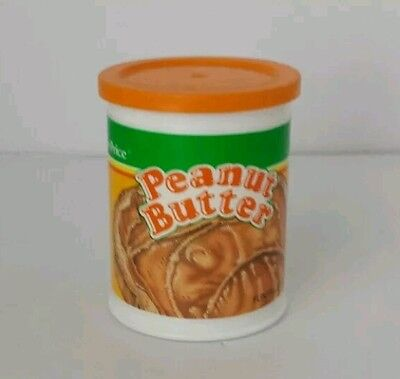 Vintage Fisher Price Fun with Play Food 4 Little Tikes Peanut Butter Can w Lid