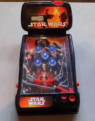 Disney Star Wars Light Up Action Tabletop Pinball Machine