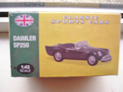Daimler Sp250 Atlas Classic Sports Cars 1:43 Scale Still Sealed In Box