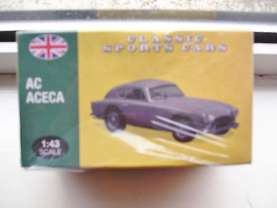 Ac Aceca Atlas Classic Sports Cars 1:43 Scale Still Sealed In Box