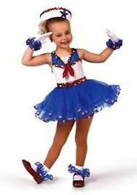 Ahoy Mate! Sailor Child Dance Costume. Amazing Quality