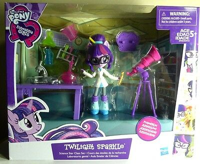 EQUESTRIA GIRLS Minis TWILIGHT SPARKLE My Little Pony Science CLASS figure