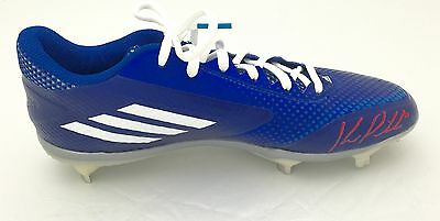 Kevin Pillar Signed Game Model Cleat Limited out/11 Toronto Blue Jays