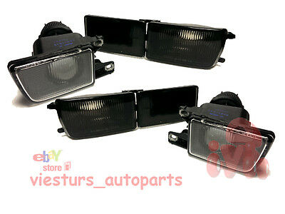 VW GOLF 3 MK3 VENTO Turn Signals Side Lamps Fog Lights LEFT and RIGHT SMOKED set
