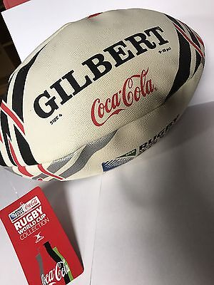 Coca Cola Gilbert Rugby Ball World Cup 2015