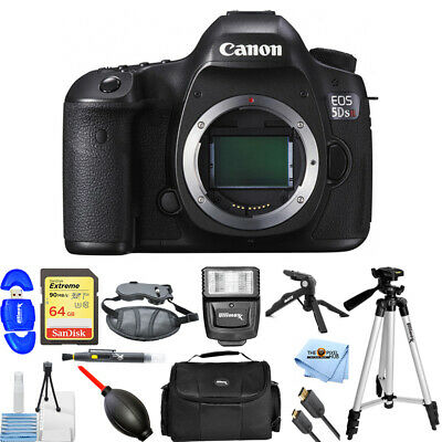 Canon EOS 5DS R DSLR Camera (Body Only) #0582C002 PRO BUNDLE BRAND NEW!!