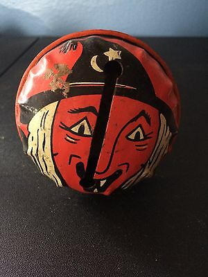 Vintage Halloween Life of the party Noisemaker Witch
