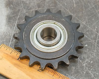 """40BB17HR2 Idler Sprocket Pulley 1"""" bore 17 Teeth RC40 RC 40 New Out of Box"""