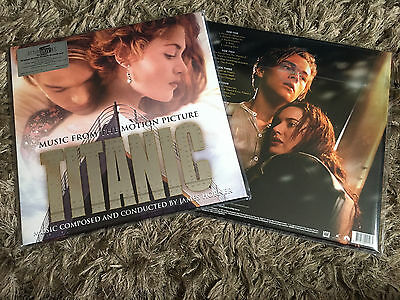 Titanic - Soundtrack James Horner Celine Dion - New WHITE COLOURED 2 x Vinyl LP
