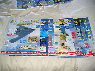 Air Combat Collection Complete Set Of 32 Magazines  Good Condition
