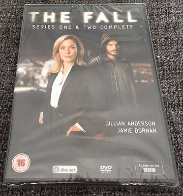 The Fall DVD Boxset Complete Series One & Two (Seasons 1-2)(2014 4-Discs)BBC NEW