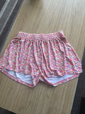 Girls Floral Shorts Age 10 Yrs From Next