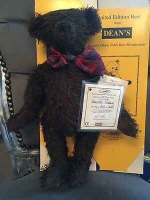 Deans Limited Edition Bear 208/1000 Chocolate Pudding