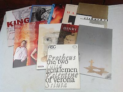 Ten Assorted RSC Theatre Programmes - Mainly 1990s - Royal Shakespeare Company