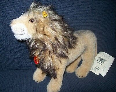 Steiff Standing Lion 'Lowe', 066757, Excellent Condition, w. Tags