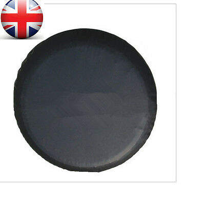 """UK 15"""" Black Spare Tire Cover Wheel Tyre Covers fit for all car Diameter 70-75cm"""