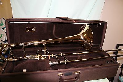 Bach 42G trombone with a model 50 slide in Mint condition Band Director Approved
