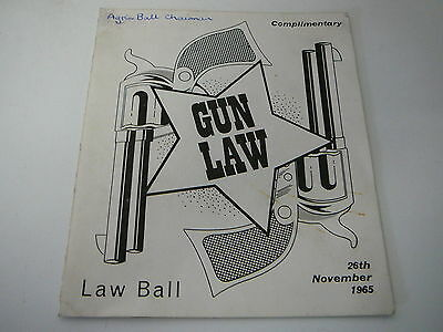 Leeds University Ball invite 1965 Law Ball Detroits The Outer Limits Sounds ++