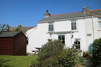 Holiday Cottage North Cornwall Saturday 1st July to Saturday 8th July