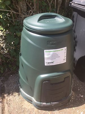 220L Plastic Compost Converter Bin Composting Garden Recycling, Cheapest on eBay