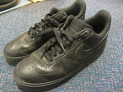 Nike Mens Black Trainers Shoes Size 8