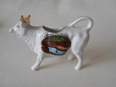 Cow Creamer - A Present From Worthing
