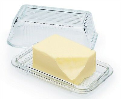Kitchen Craft Butter Dish Transparent **FREE DELIVERY**