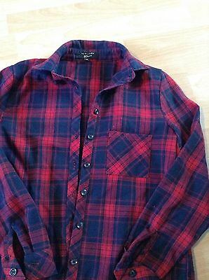 Girls Check Shirt From New Look Age 10