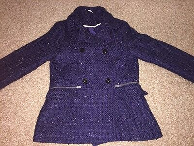 Girls Coat Jacket 9-10 Years