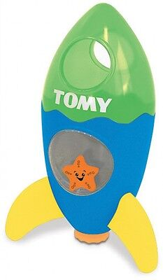 Tomy Fountain Rocket Dome Shape Fun Bath Toy For Ages 12 Months And Up
