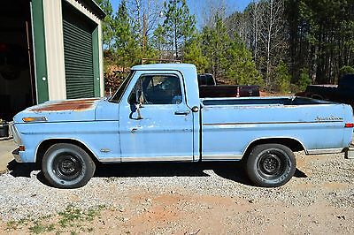 1972 Ford F-100  Rare 1972 Ford F100