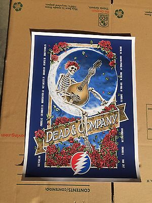 DEAD AND COMPANY SUMMER TOUR 2017 POSTER GRATEFUL DEAD NUMBERED Concert Poster