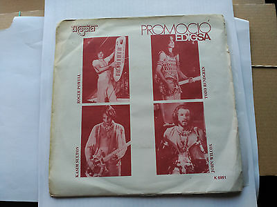 Single Promo Utopia - Set Me Free / Love Alone - Edigsa Spain 1980 Vg/vg+