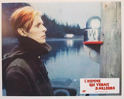 THE MAN WHO FELL TO EARTH 1976 David Bowie 16 FRENCH LOBBY-CARDS