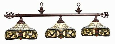 Pool Billiard Table Light Harmony Stained Glass 34-B60 34 B60 w/ FREE Shipping