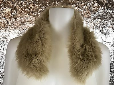 Vintage 1970's Faux Fur Collar, One Size, Pre-Owned, Good Condition