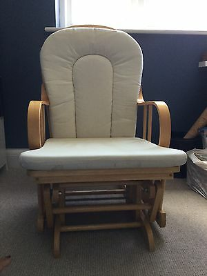 Hauck Nursing Rocking Chair And Stool