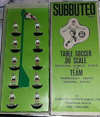 Subbuteo C100 old team HAREFORD, GERMANIA OVEST ref. 156