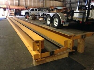 "NYS US 1 Ton Crane Beam 37' 10"" Long"