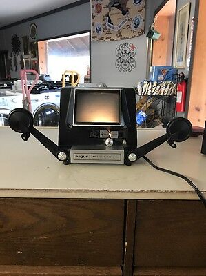 Vintage Argus 8mm Movie Film Editor Model 767 Working