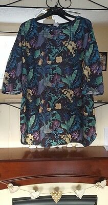 Next Maternity Tunic Top Size 20