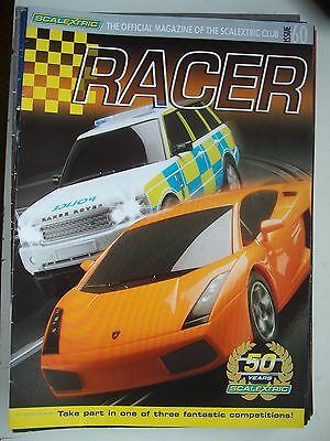 Scalextric Racer Magazine 60th Issue 1/32 Slot Cars Mint Unused