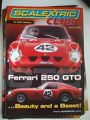 Scalextric Racer Magazine 66th Issue 1/32 Slot Cars Mint Unused