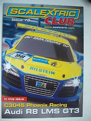 Scalextric Racer Magazine 70th Issue 1/32 Slot Cars Mint Unused