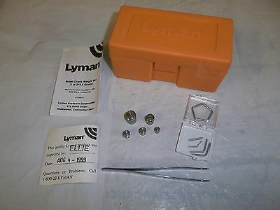 Lyman 7752313 Scale Weight Check Set Reloading Tools