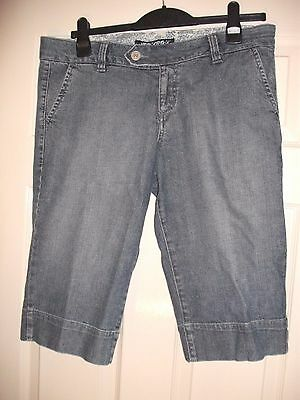 Lovely New Look Ladies Denim Shorts, Jeans, size 14